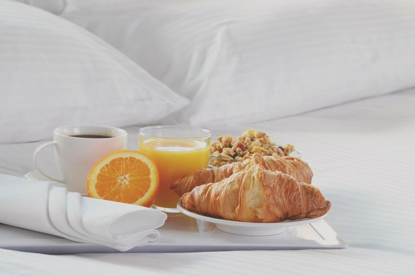 desayuno habitación hotel galicia